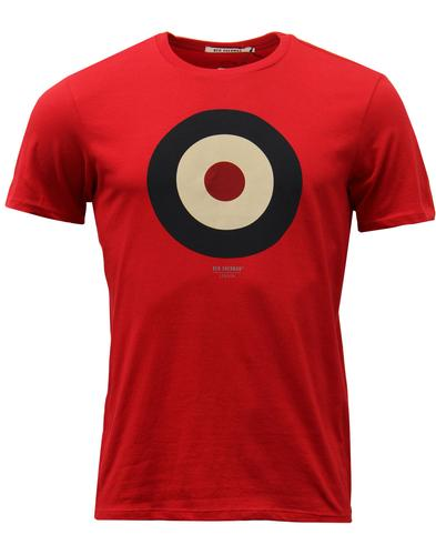 ben-sherman-retro-mod-target-keith-moon-tee-red