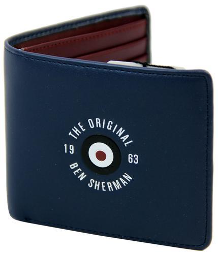 ben sherman retro indie original mod target wallet