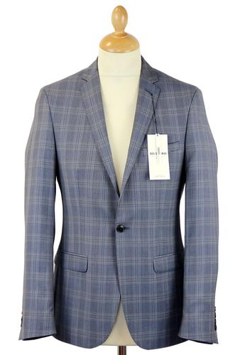 BEN SHERMAN MOD 60S PRINCE OF WALES SUIT JACKET