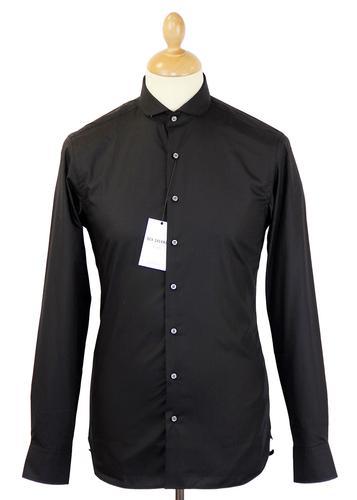 Ben Sherman Tailoring Retro Mod Penny Collar Shirt