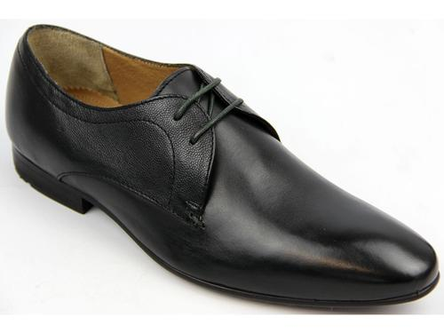 BEN SHERMAN RETRO MOD 60s DERBY SHOES ENOX BLACK