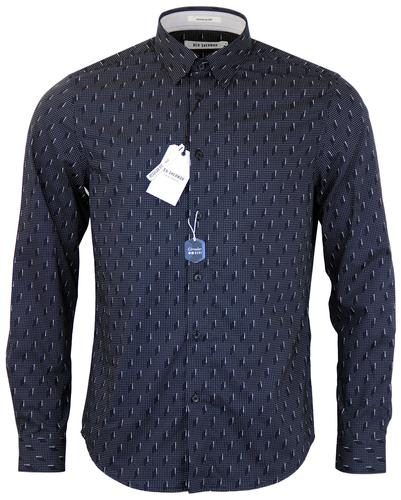 BEN SHERMAN RETRO MOD 50s PIN DOT SHIRT
