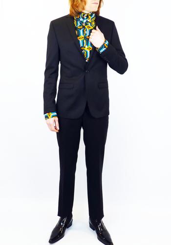 BEN SHERMAN Tailoring Mod 1 Button Wool Dress Suit