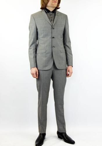 BEN SHERMAN TAILORING Mod 3 Button Mohair Suit DS