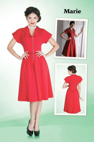 BETTIE PAGE RETRO 1950s VINTAGE DRESS MARIE