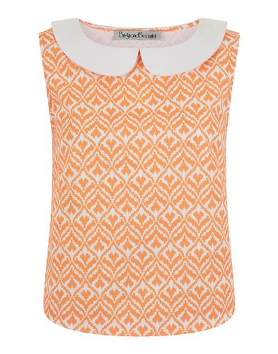 BRIGHT & BEAUTIFUL RETRO 60s MOD TOP
