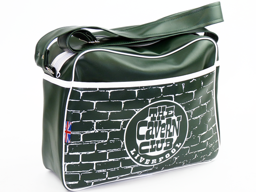 CAVERN CLUB ARCHES RETRO MOD SHOULDER BAG GREEN
