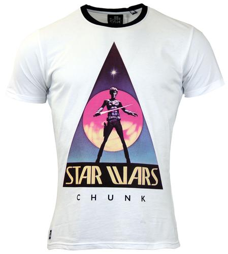 CHUNK VINTAGE STAR WARS T-SHIRT WHITE