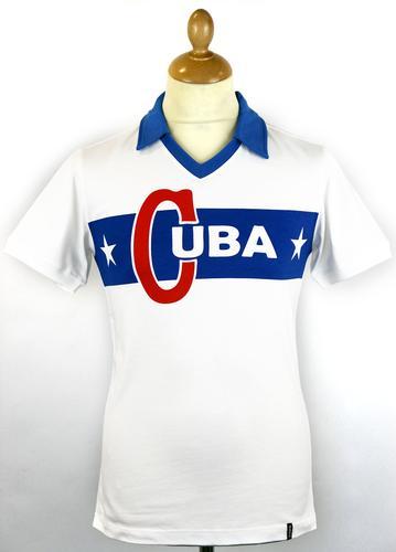 COPA FOOTBALL RETRO REPLICA CUBA FOOTBALL SHIRT