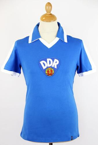 DDR COPA Retro 1960s East Germany Football Shirt