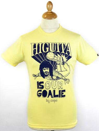 Higuita COPA Retro Indie Columbia Football T-shirt