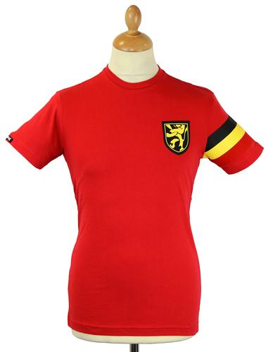 Belgium Captain COPA Retro Indie Football T-shirt