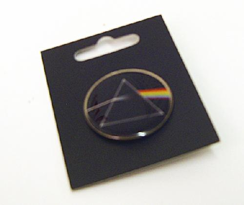 PINK FLOYD DARK SIDE OF THE MOON PIN BADGE 70s MOD