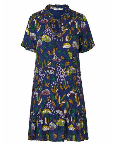 Hilda DARLING 60s Psychedelic Floral Floaty Dress
