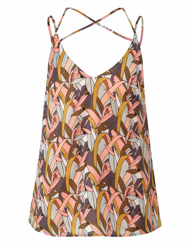Darling Retro vintage cami top lotus