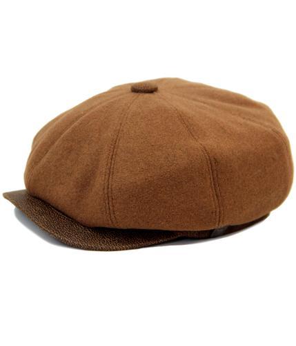 DASMARCA EDEN RETRO 60s MOD 8 PANEL GATSBY CAP