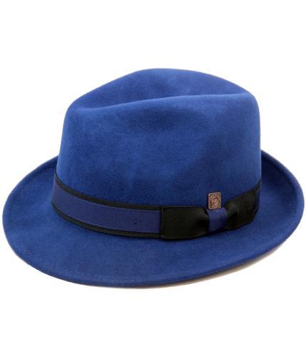 Robin DASMARCA Retro 50s Trilby Fedora Hat