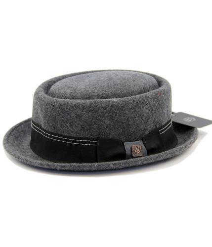 Quintin DASMARCA Retro Mod Wool Felt Porkpie Hat