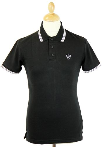 DAVID WATTS RETRO MOD MADE IN ENGLAND PIQUE POLO