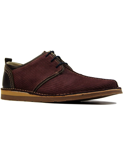 Afterglow DELICIOUS JUNCTION Mens Cord Suede Shoes