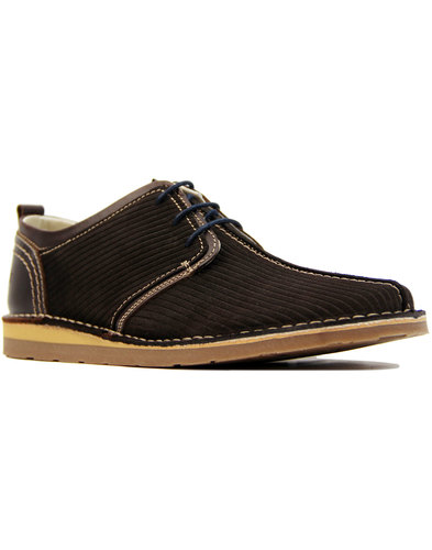 Afterglow DELICIOUS JUNCTION Mod Suede Cord Shoes