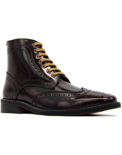 Landslide DELICIOUS JUNCTION Brogue Bovver Boots O