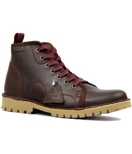 DELICIOUS JUNCTION RETRO MOD CORD BOOTS RED