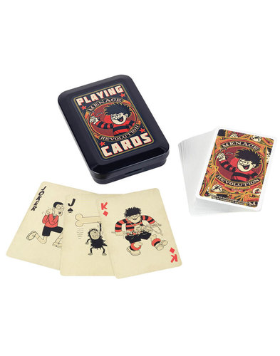 BEANO Playing Cards Revolution in Presentation Tin