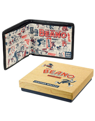 Menace THE BEANO Retro Comic Print Vintage Wallet