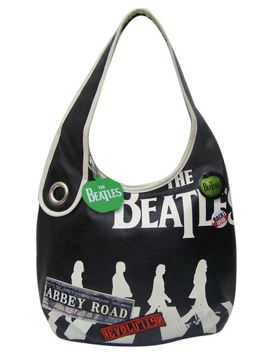 Disaster Beatles Retro Abbey Road Slouch Bag