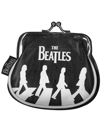 Disaster Beatles Retro Abbey Road Clip Purse