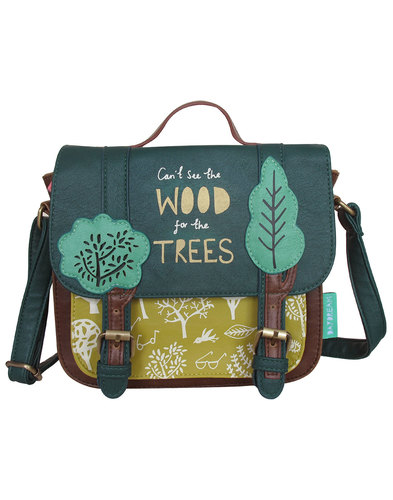 Disaster Daydream Retro Trees Satchel Bag