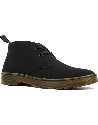 Dr Martens cruise mayport canvas desert boot black