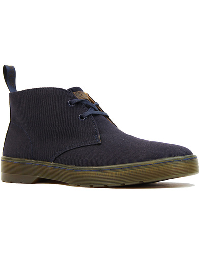 Dr Martens cruise mayport canvas desert boot Navy