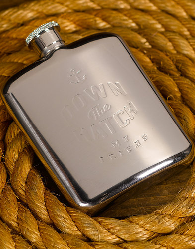 My Friend GENTLEMEN'S HARDWARE Retro Hip Flask