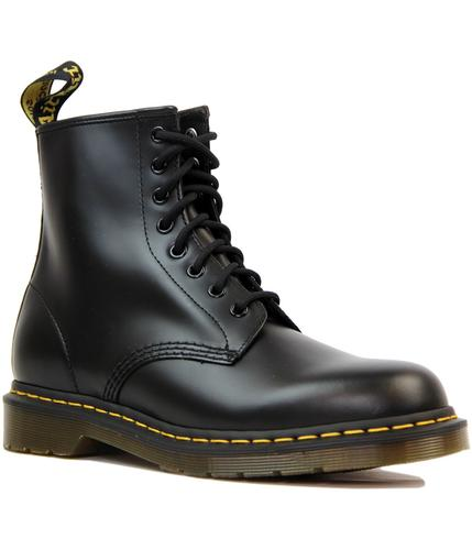 DR MARTEN BOOTS 1460 SMOOTH BLACK MOD BOOTS
