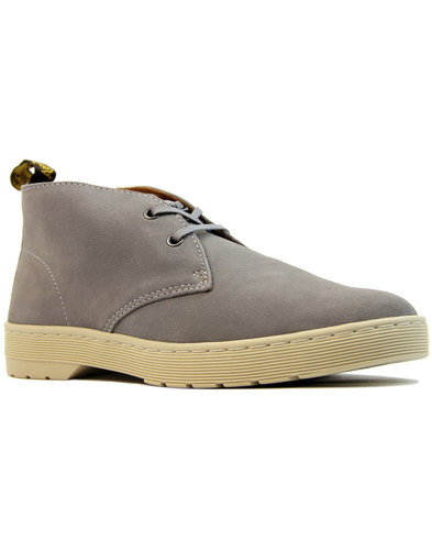 dr martens cabrillo suede mod desert boots grey