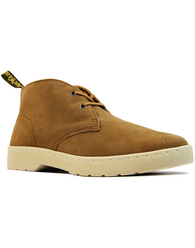 dr martens cabrillo suede mod desert boots tan