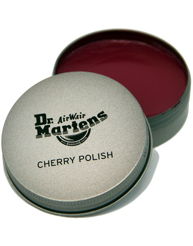 DR MARTENS Cherry Boot and Shoe Polish