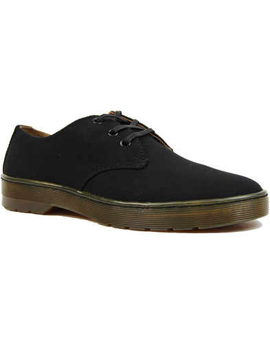 Cruise Delray DR MARTENS Retro Twill Canvas Shoes