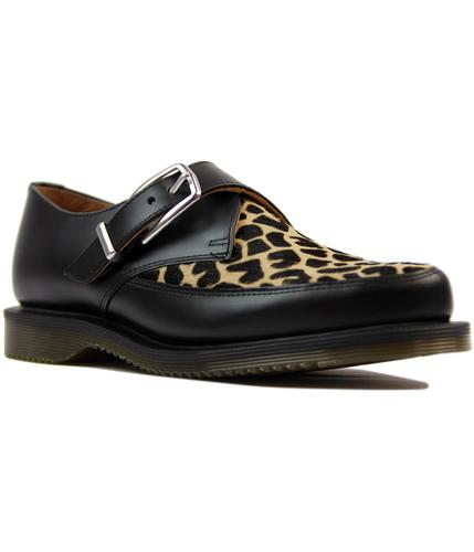 dr martens hawley retro 50s giraffe black creepers