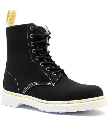 Page DR MARTENS Retro 8 Eye Canvas Sneaker Boots