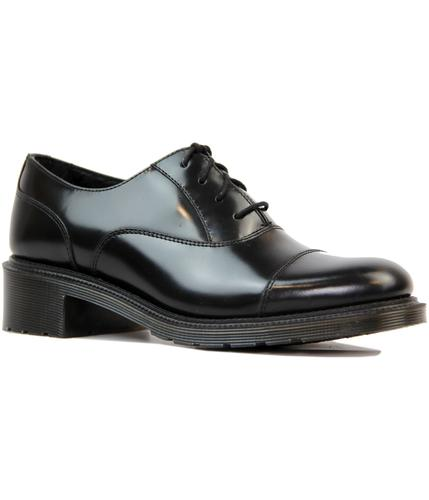 DR MARTENS WOMENS RETRO OFFICE OXFORD SHOES