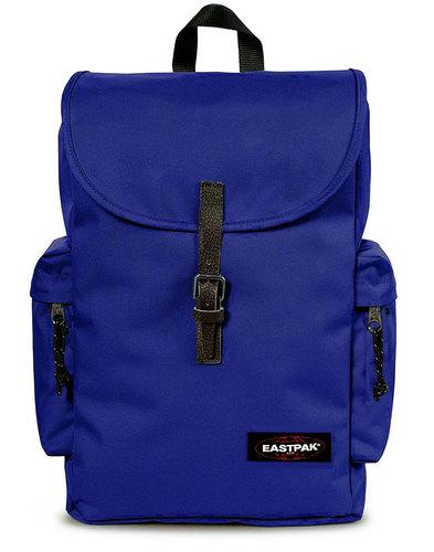 eastpak austin retro laptop backpack bonded blue