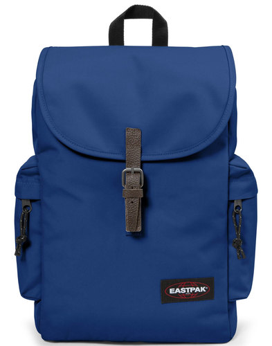 eastpak austin retro laptop backpack bonded blue