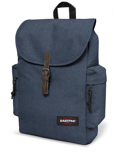 eastpak austin laptop backpack denim