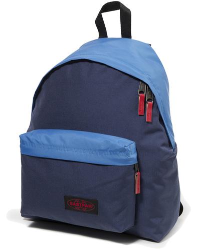 eastpak padded pak'd backpack combo blue