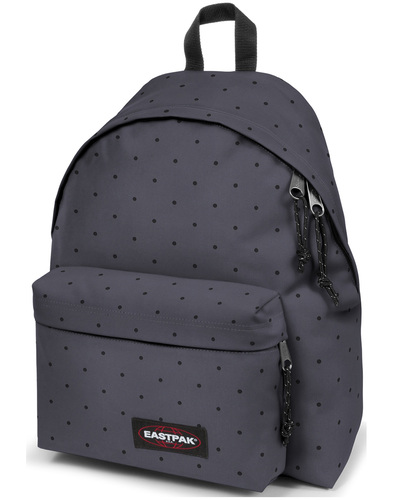 eastpak padded pak'd backpack dot grey