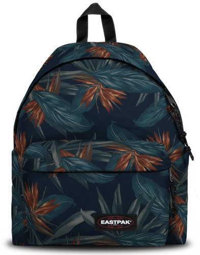 Padded Pak'r EASTPAK Retro 70s Leaf Print Backpack