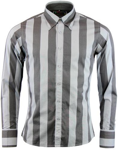 madcap england eaton mod candy stripe shirt grey